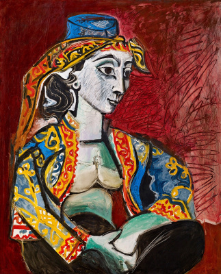 Pablo Picasso. Jacqueline in Turkish costume