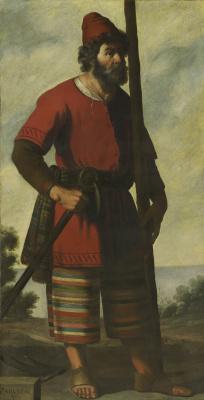 Франсиско де Сурбаран. Завулон из серии «Иаков и его двенадцать сыновей»