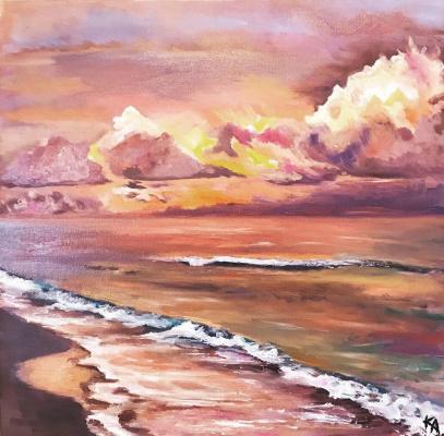 Ксения Андреевна Бахенская. The colors of the sky