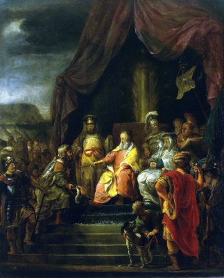 Фердинанд Балтасарс Боль. Моисей и Иофор
