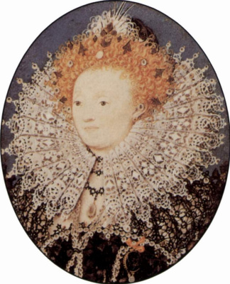 Николас Хильярд. Портрет Елизаветы I, королевы Англии