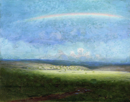Arkhip Ivanovich Kuindzhi. After the rain. Rainbow