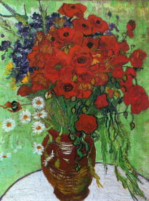 Vincent van Gogh. Poppies and chamomile