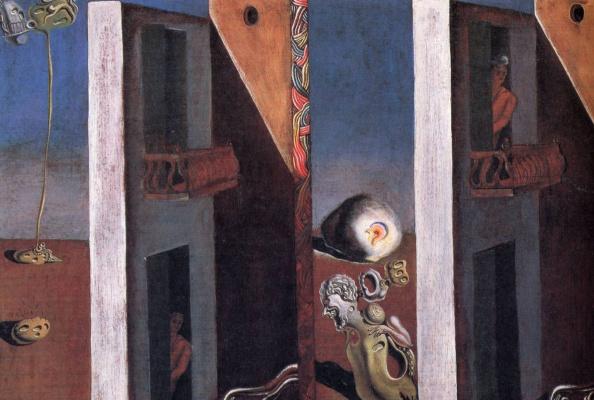 Salvador Dali. Two balconies