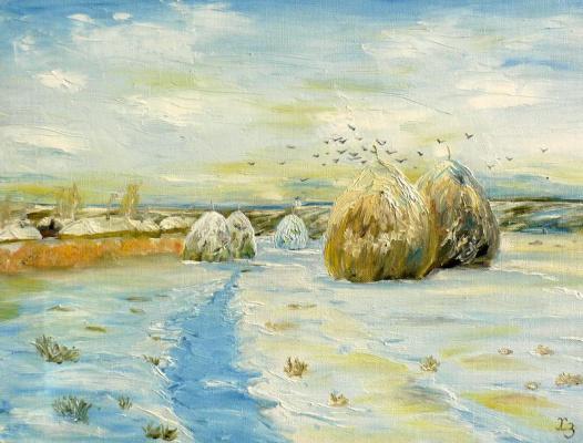 Сергей Николаевич Ходоренко-Затонский. Winter
