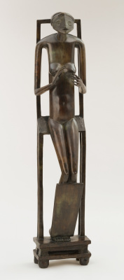 Alberto Giacometti. Invisible object. Hands holding the void