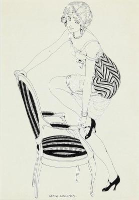 Gerda Wegener. Untitled