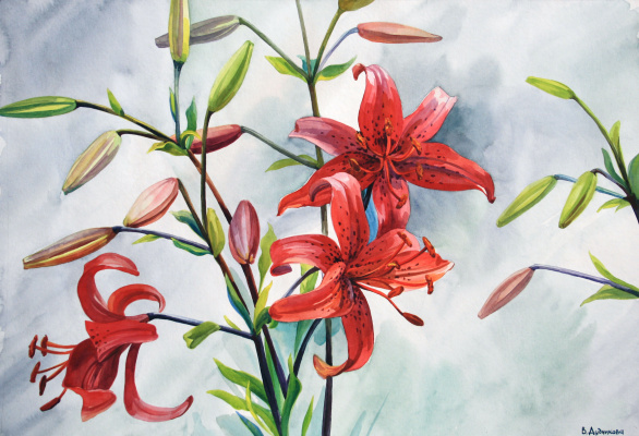 Violetta Dudnikova. Chinese motifs