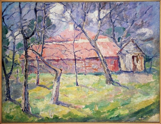 Казимир Северинович Малевич. Пейзаж вблизи Киева