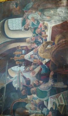 Osipov. Boyar wedding feast (K. E. Makovsky 1839)