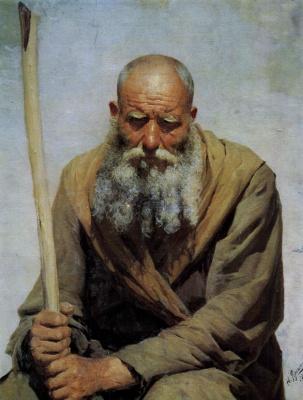 Nikolay Aleksandrovich Yaroshenko. Old man 1892