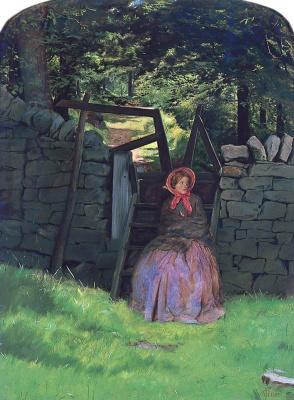 John Everett Millais. Waiting