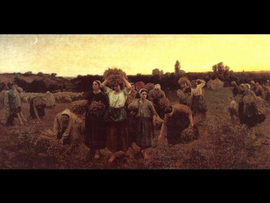 Jules Breton. Workers