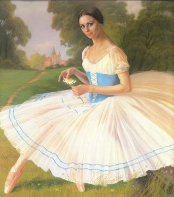 Alexander The maksovich Shilov. Ballerina Ludmila Semenyaka