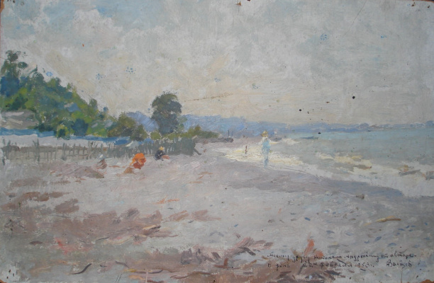Николай Митрофанович Зайцев. Одесский пляж.