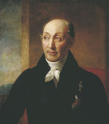Alexander Grigorievich Varnek. Portrait of M. M. Speransky. Irkutsk Regional Art Museum. V.P. Sukachev