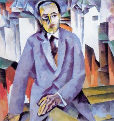 Aristarkh Vasilyevich Lentulov. Portrait Of A. Y. Tairov