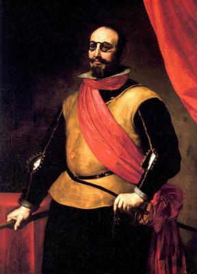 Jose de Ribera. Portrait of a knight of the order of Santiago