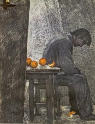 Савва Григорьевич Бродский. Апельсины
