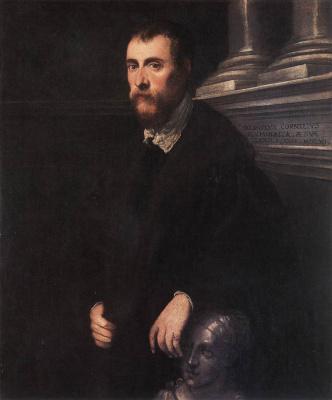 Jacopo (Robusti) Tintoretto. Portrait of Giovanni Paolo Cornaro