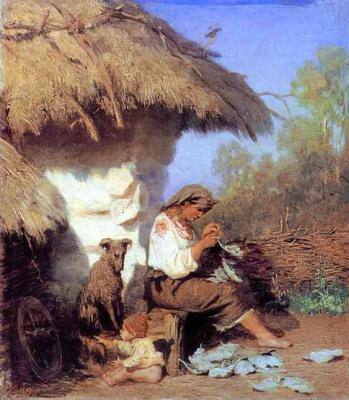 Генрих Ипполитович Семирадский. Сельская идиллия.