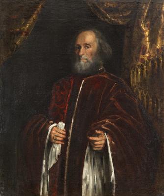 Jacopo (Robusti) Tintoretto. Portrait of a senator