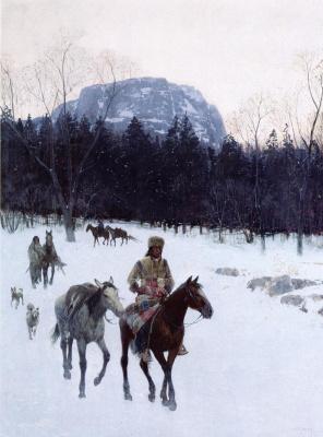 Анри Фарни. Снега