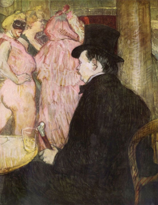 Henri de Toulouse-Lautrec. Monsieur Maksen, Dethomas at the Opera