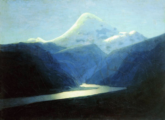 Arkhip Ivanovich Kuindzhi. Elbrus