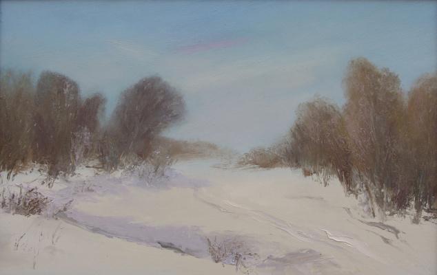 Elena Valyavina. Winter day