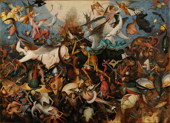 Pieter Bruegel The Elder. Fall of Rebel Angels