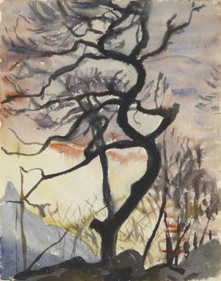Giovanni Giacometti. Tree