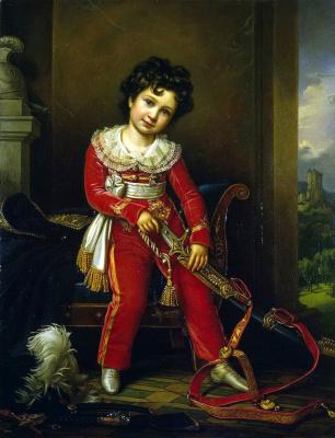 Йозеф Карл Штилер. Портрет Максимилиана Лейхтенбергского