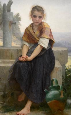 William-Adolphe Bouguereau. The broken jug