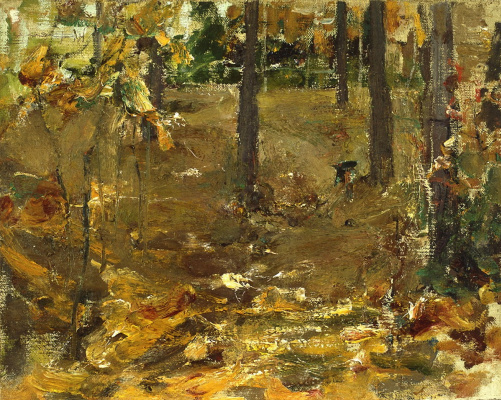 Nikolay Feshin. Autumn landscape.