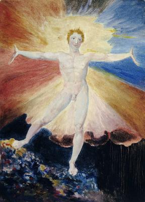 William Blake. Albion rose