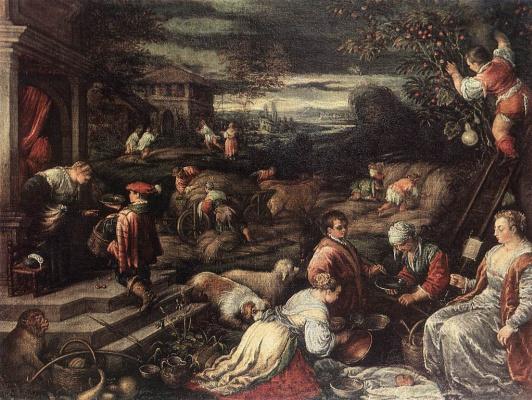 Jacopo da Ponte Bassano. Plot 1