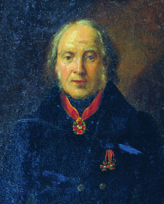 Иван Кузьмич Макаров. Портрет А.В. Ступина