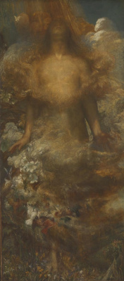 George Frederick Watts. And they will call her a woman