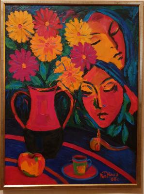 Robert Patwakanovich Gyulazyan. Summer Still Life (W)