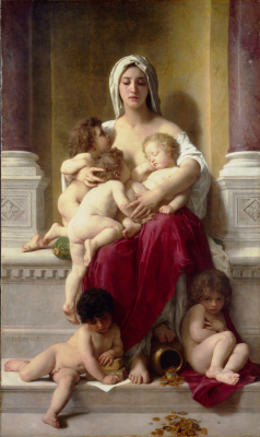 William-Adolphe Bouguereau. Mercy