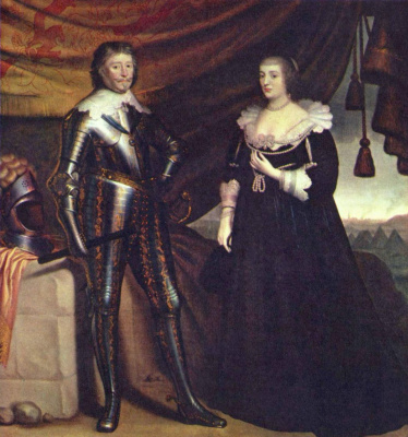 Герард ван Хонхорст. Портрет принца Фредерика Хендрика и Амалии фон Сольм