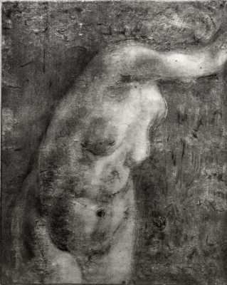 Edgar Degas. Female torso