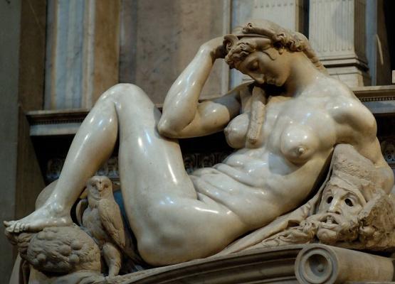Микеланджело Буонарроти. Ночь