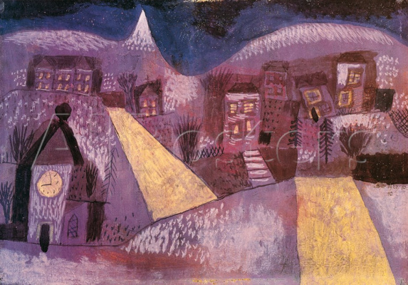 Пауль Клее. Зимний пейзаж