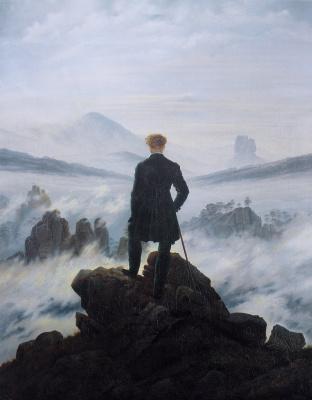 Friedrich. Landscape