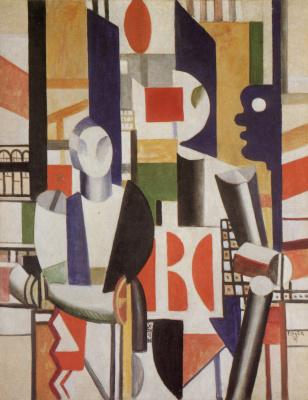 Fernand Leger. Men in the city