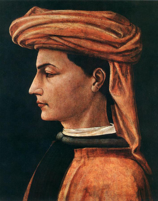 Paolo Uccello. Portrait of a young man