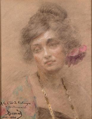 Поль Альбер Бенар. Женский портрет
