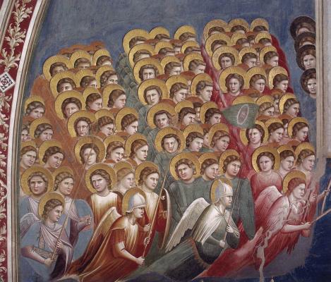 Giotto di Bondone. Judgment. Fragment 7